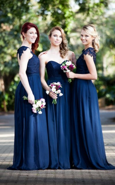 Bridesmaids Gowns Gladstone